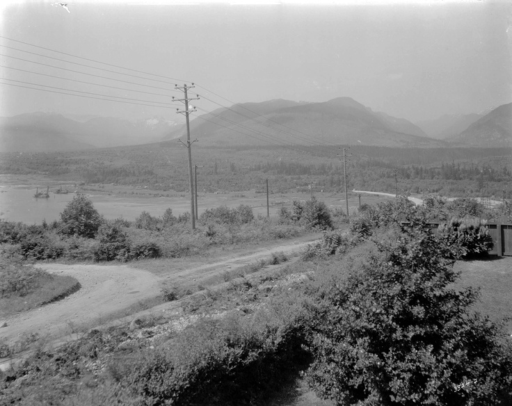 Vancouver Archive Picture. View looking North from Vancouver Heights back in 1924 #vancouver #heights #archive #picture #north