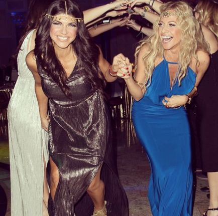 "Phony-Baloney Dina Manzo Gossips About Her ""Friend"" Teresa Giudice Behind Her Back! Read more at: http://www.allaboutthetea.com/2014/07/30/dina-manzo-gossips-about-teresa-giudice/"