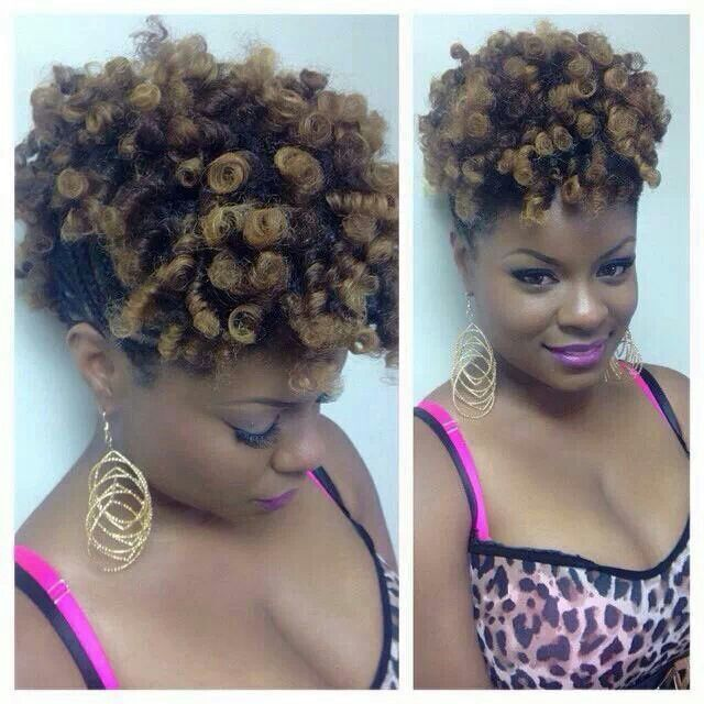 Hairstyles For Black Permed Hair Medium Length : 216 best medium length natural hair images on pinterest