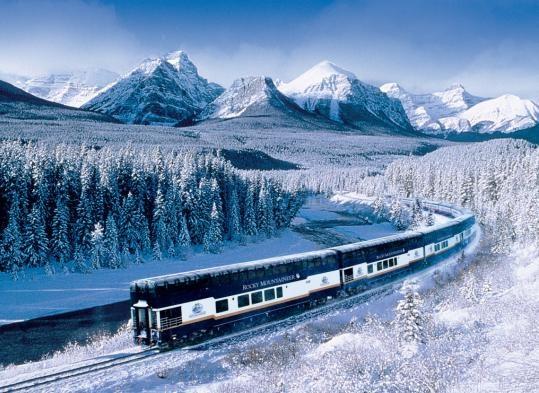 Paradise of snow.