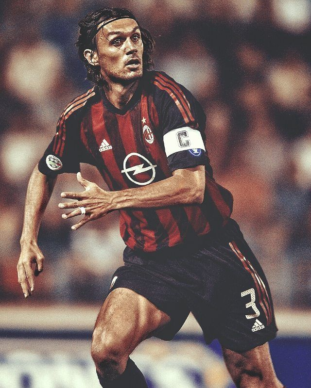 Il Capitano Forzamilan Acmilan Ac Milan Legends Football Best Football Players