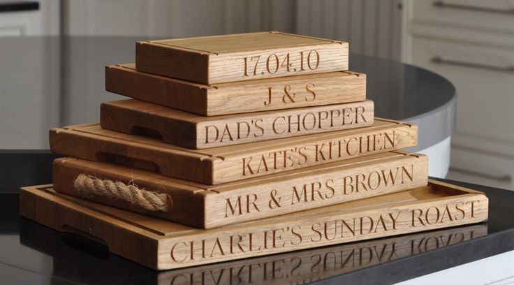 The Oak and Rope Company. | Personalised Oak Gifts | Personalised Gifts