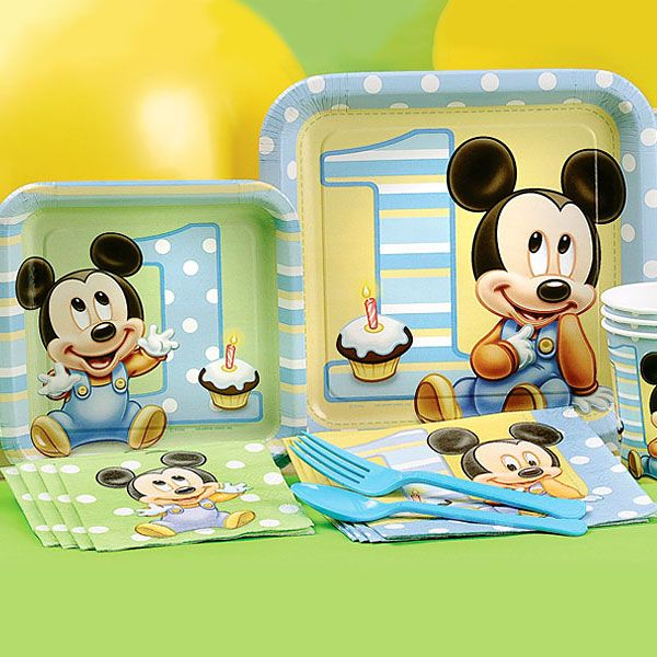 17 best ideas about mickey mouse party supplies on for Baby mickey mouse decoration