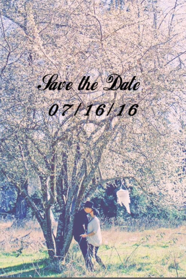 save the date 07/16/16