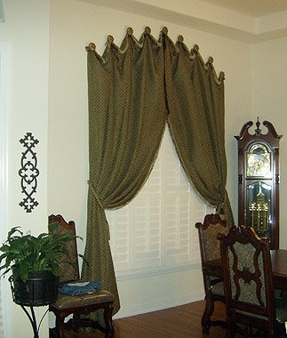 Unique way to hang draperies home designs pinterest - Unique ways to hang curtains ...