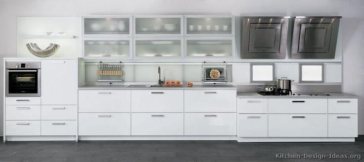 Modern White Kitchen Images modern white kitchen design - home design ideas