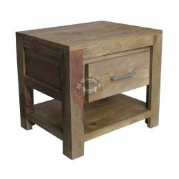 METRO drewniana szafka nocna - LN
