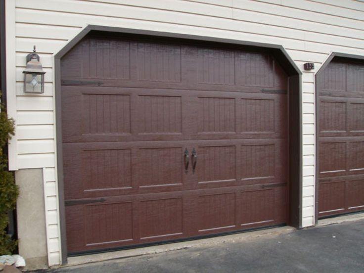 Doors Garage Door Decorative Hardware With Two Gate Door Dark Colors And  Lanterns Garage Without Window