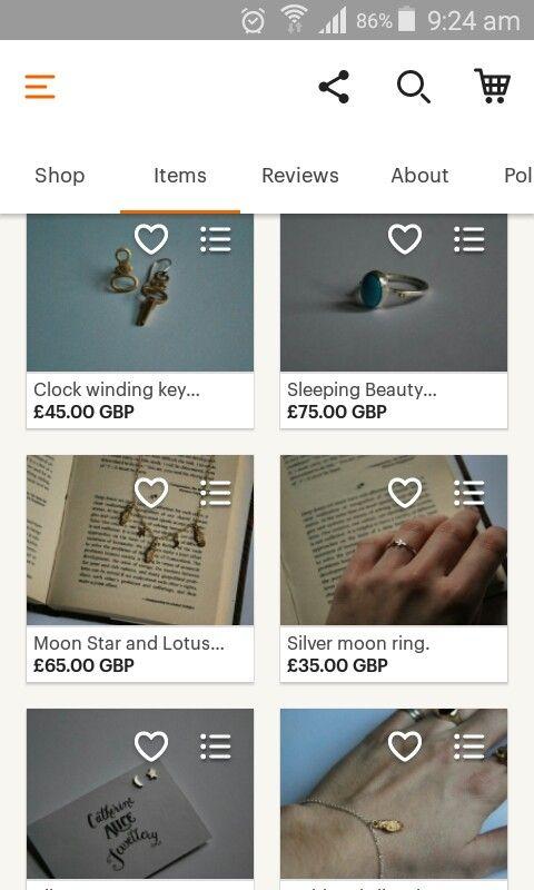 For sale on my Etsy Shop! #etsy #etsyshop #cathyalicejewellery #handmade #design #london #jewellery #maker #create #keys #hands #lotus #rings