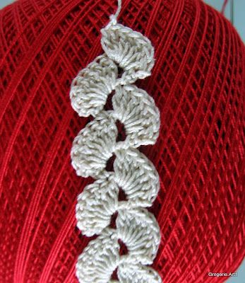 Romanian Point Lace - crocheted braid instructions
