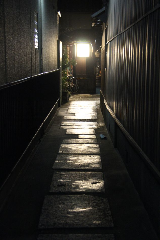 Lantern lit alley in black - Zenbu Zen Tour 2015
