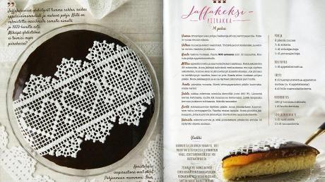 Ruokakirjatestissä Kinuskikissa-bloggaaja Sini Visan uusi leivontakirja.