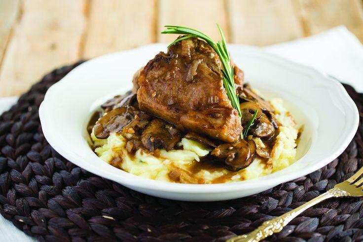 Recipe: Lamb Loin Chops with Mushroom Marsala Sauce