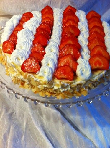 tarte fraises/chantilly