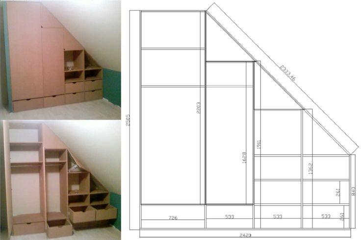 bv02 placard sous 1217 811 dressing sous. Black Bedroom Furniture Sets. Home Design Ideas