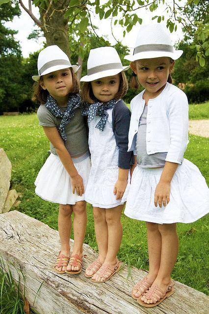 Summer white, so chic and lovely. #kids #estella #fashion #designer