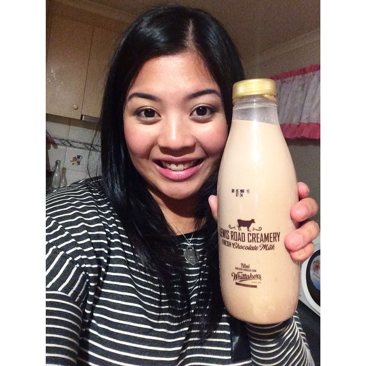 Thank you for my Lewis road creamery chocolate milk my love