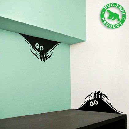 ...The smallest details can bring something fun and entertaining to any room ... Even if it's just a curious monster looking at you !... haaaaaa