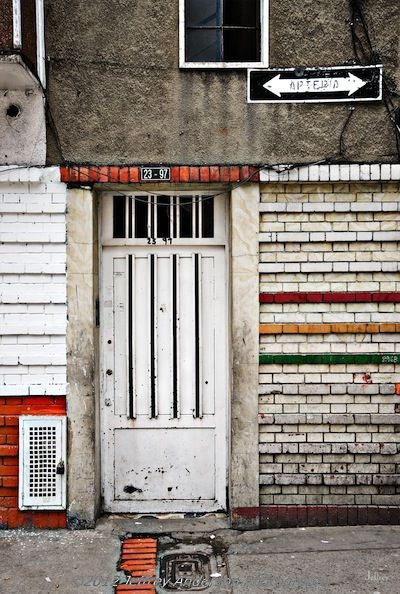 Horizontal and colorful - Bogota, Columbia