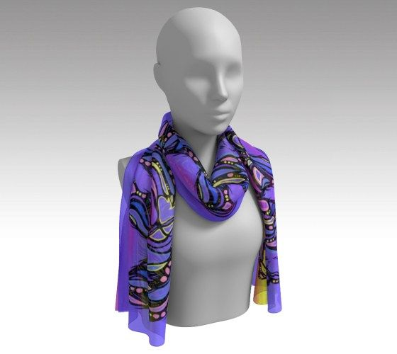 Walk in Courage - Long Scarf