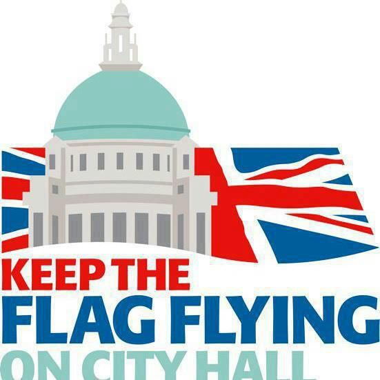 a plea to keep the Union flag flying over City Hall ; Belfast
