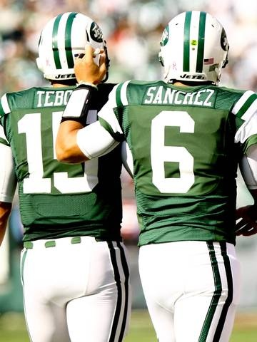 """""""Mark Sanchez among few Jets who speak about and defend Tim Tebow"""" USA Today (November 15, 2012)"""