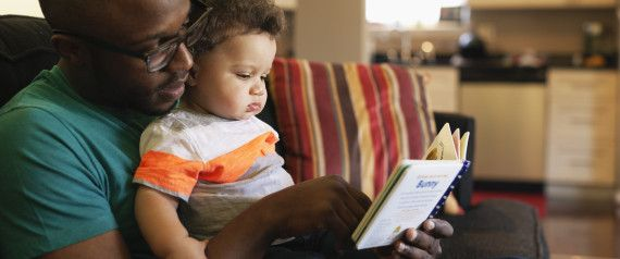 """""""Children are made readers on the laps of their parents."""" –Emilie Buchwald  Did you know the American Academy of Pediatrics encourages parents to read aloud to their children?  Reading to children helps stimulate early language development."""