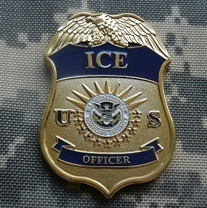 DHS Ice New York New Jersey Badge Challenge Coin