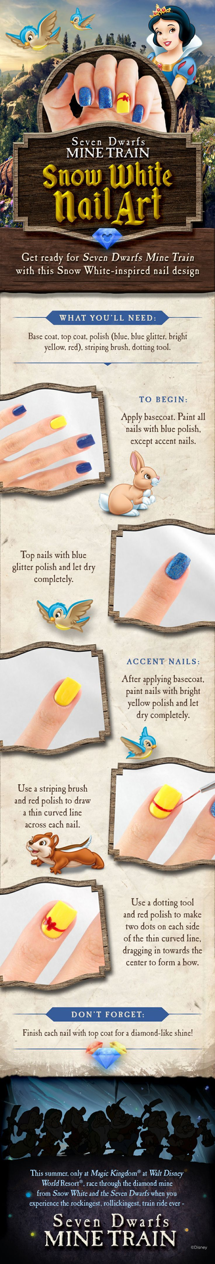78 best nail designs images on Pinterest | Disney nails, Disney nail ...