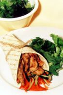 Cajun Chicken Wrap Recipe - weightloss.com.au