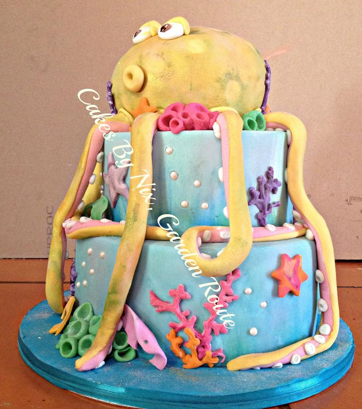 Octopus, under the sea cake
