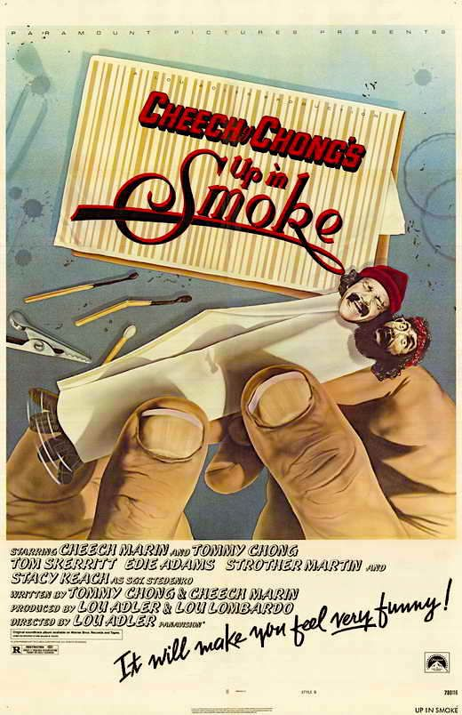 Up in Smoke Tommy Chong / Lou Adler, 1978