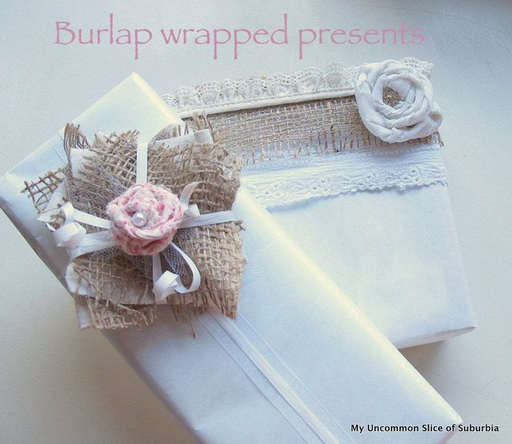 how to make burlap ribbon the cheap and easy way gift