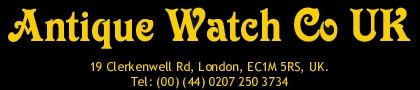 Antiquewatchcouk presently the most trusted name for omega watch repairs in uk and are counseled by watch mates from everywhere throughout the world for repairing and additionally unique antique watch sourcing.