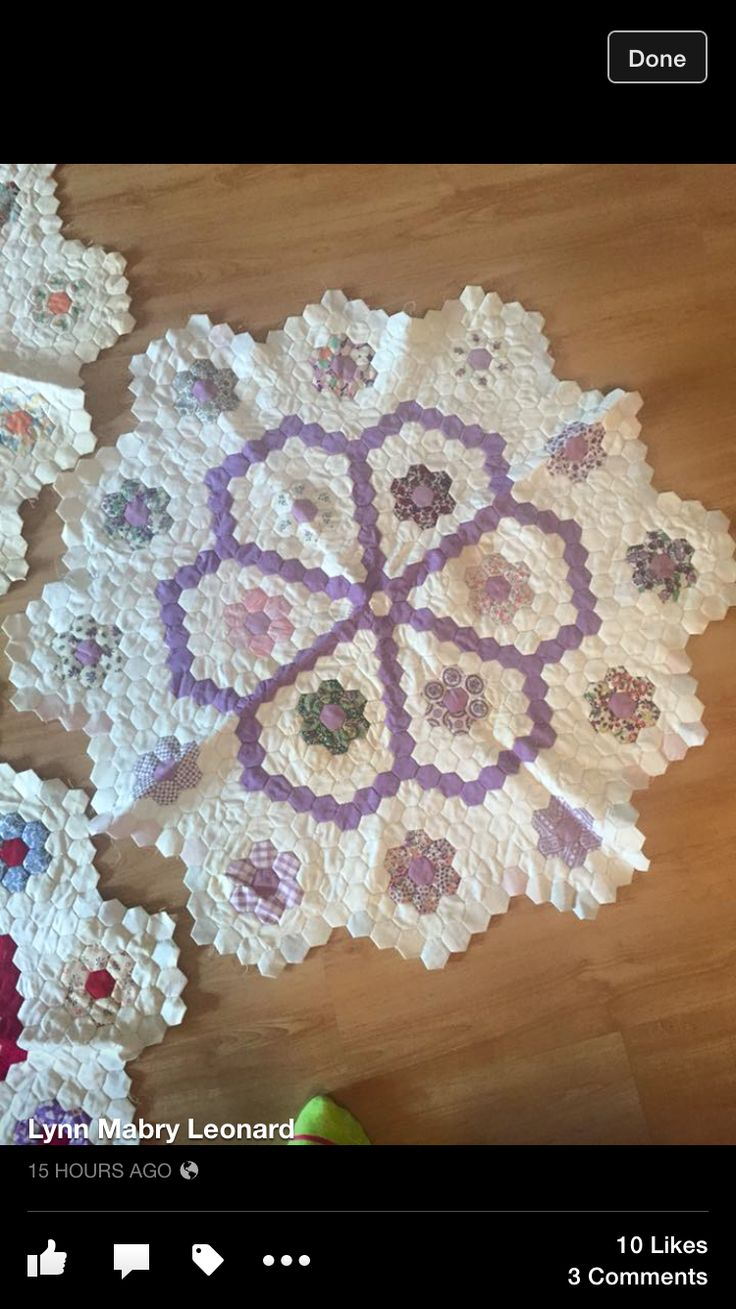 1700 Best Images About English Paper Piecing On Pinterest
