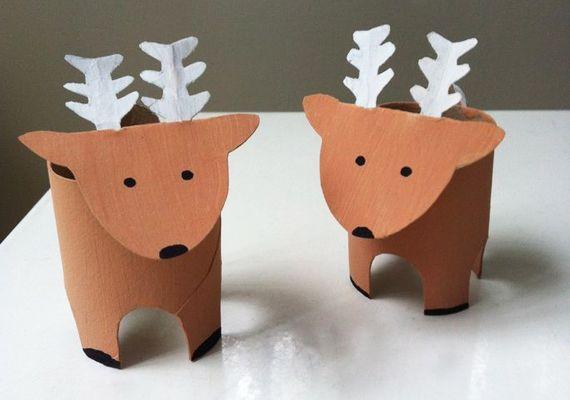 WC-papír-gurigából édes karácsonyi díszek készíthetők. Adunk egy kis ihletet!