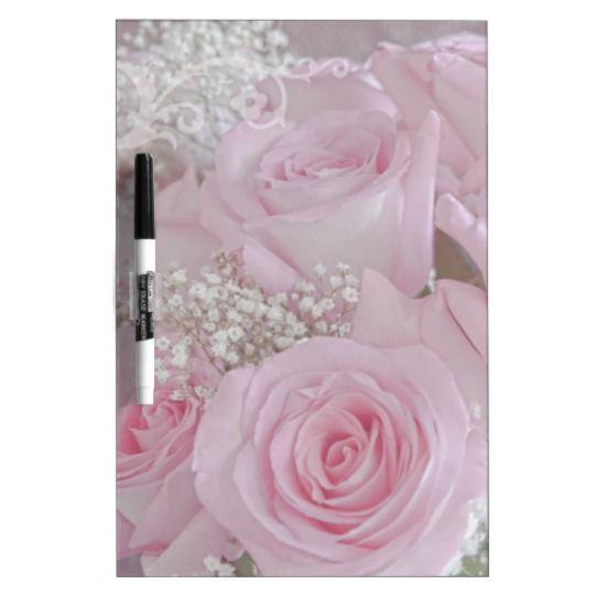 Tissue Soft Roses Dry-Erase Boards - by Sandra Foster © - Sandra Foster Designs - Zazzle.