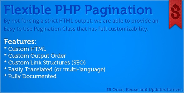 Flexible PHP Pagination