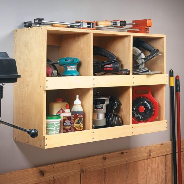 Quick U0026 Easy Shop Organizer For Small Power Tools| Woodsmith Tips