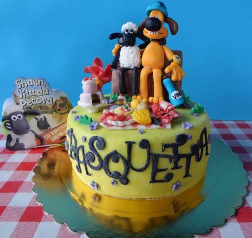 La torta di Shaun vita da pecore (4)