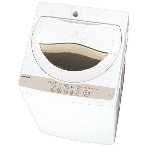 東芝 5.0kg 全自動洗濯機 グランホワイトTOSHIBA AW-5G3-W