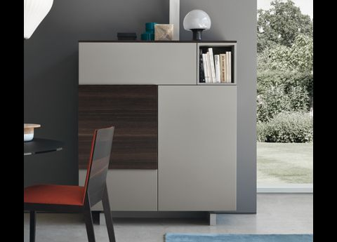 The Jesse Open Sideboard 02 Is Made In Italy By Italian Contemporary  Furniture Brand Jesse Furniture And Is Part Of A Range Of Already Made Wall  Units And ...