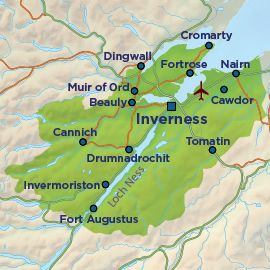 Inverness, Loch Ness & Nairn - Scottish Highlands Holiday Guide ...