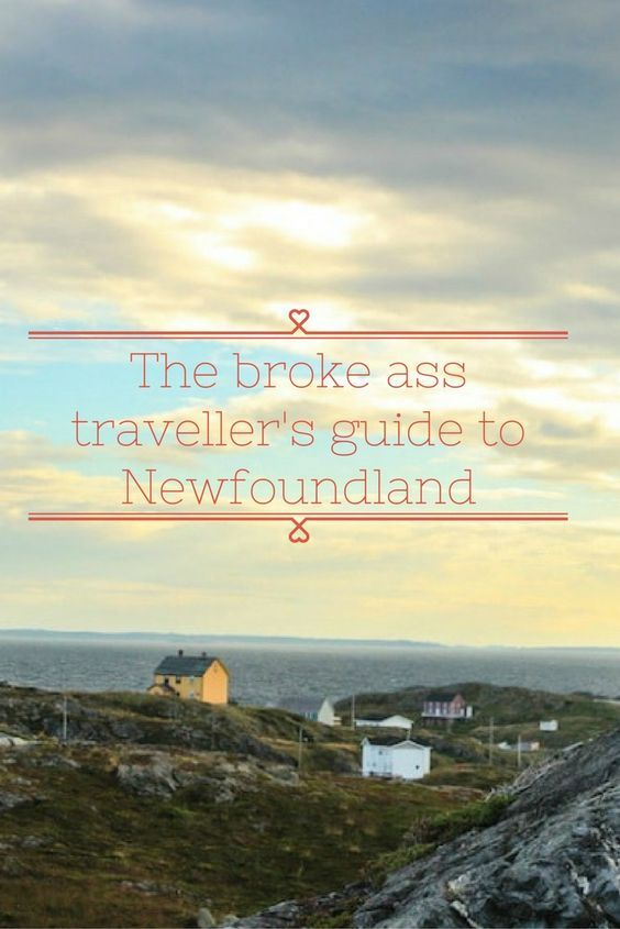 Wanting to come to Newfoundland on a budget? Here's how to get started.