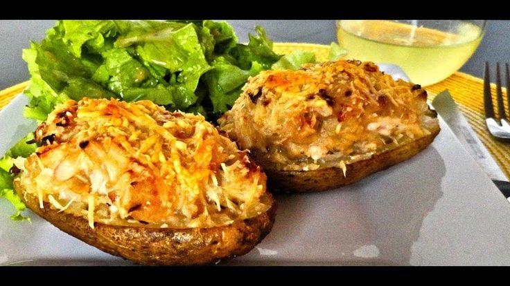 Рецепт картошки запеченной с чесноком и сыром в духовке.