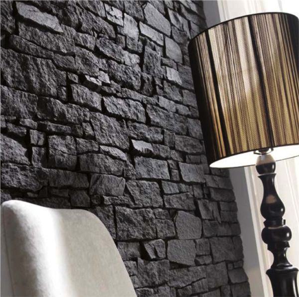 STACKED SLATE FAUX PANELLING