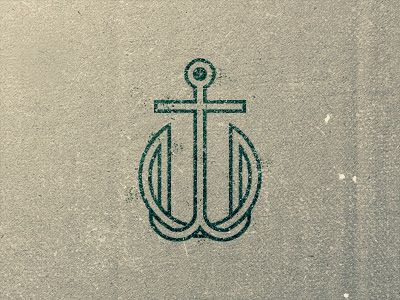 One of my favorite logo's   Nautical Love   Sweet Color Combo   The letters are secondary to the design.