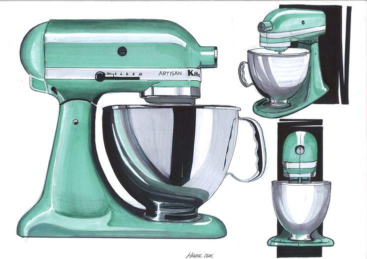 Kjøkkenmaskin materialer