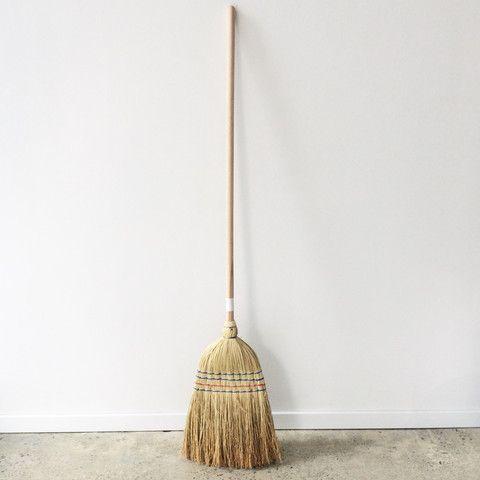 Straw Broom | LET LIV #Homeware