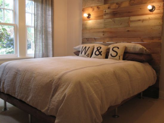 DIY Wood Headboards  10 headboard designs you can make with reclaimed or new wood